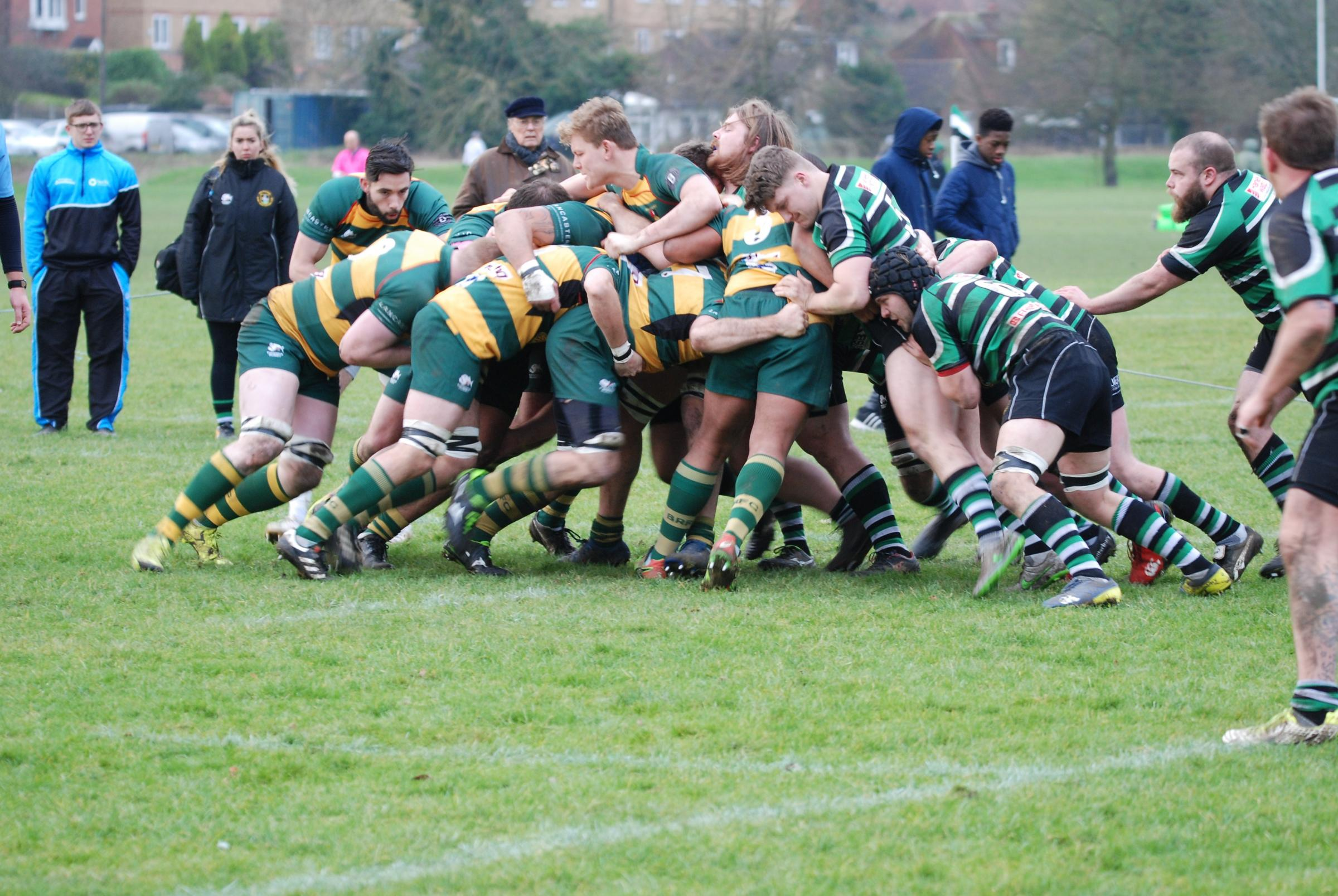 Beaconsfield were too strong for High Wycombe