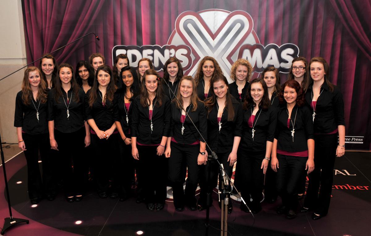 Judges find X-factor in Eden choir contest | Bucks Free Press