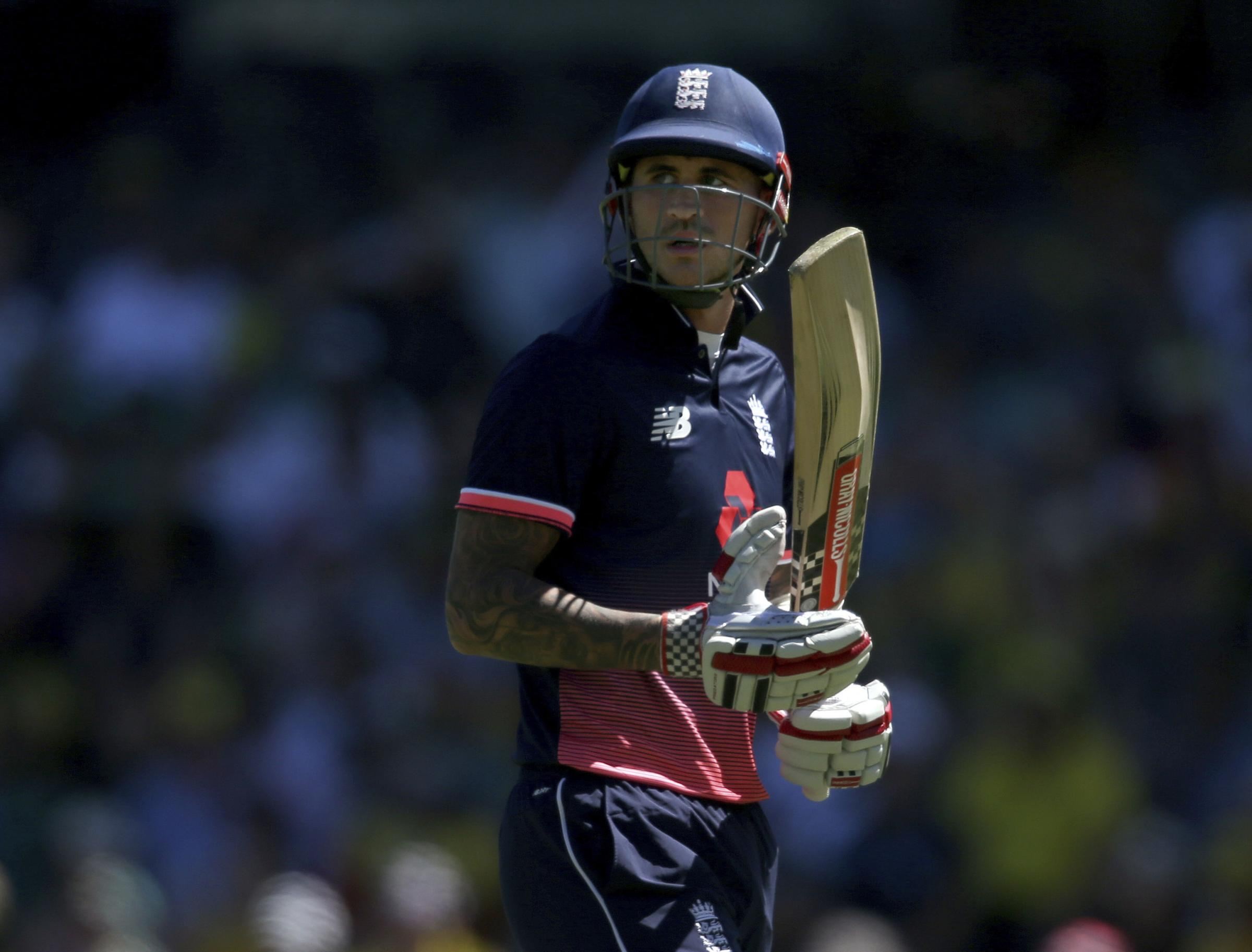 Hales was in great form but England were narrowly beaten
