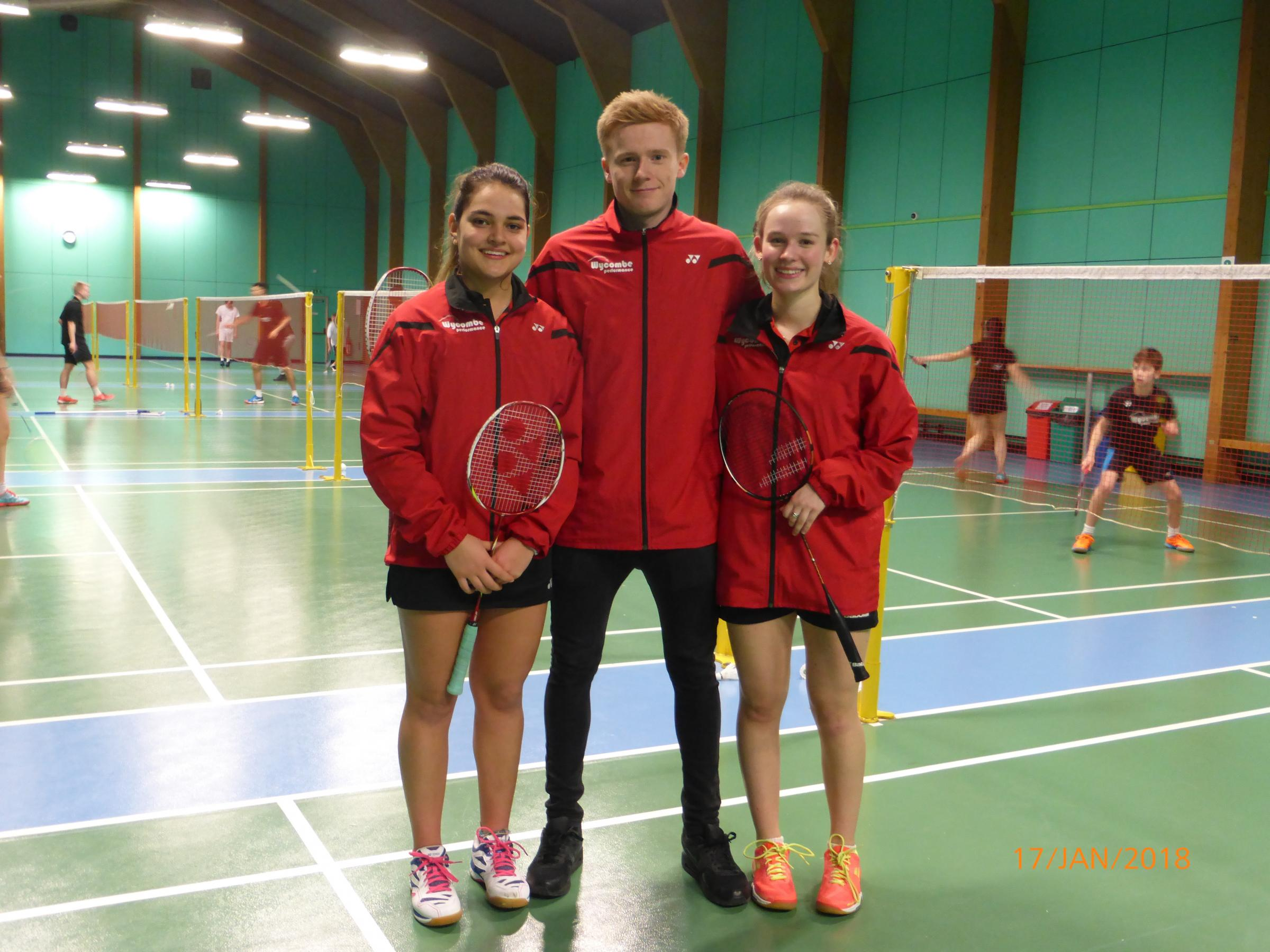 David Jones, Abigail Holden and Freya Patel-Redfern have been called up by England