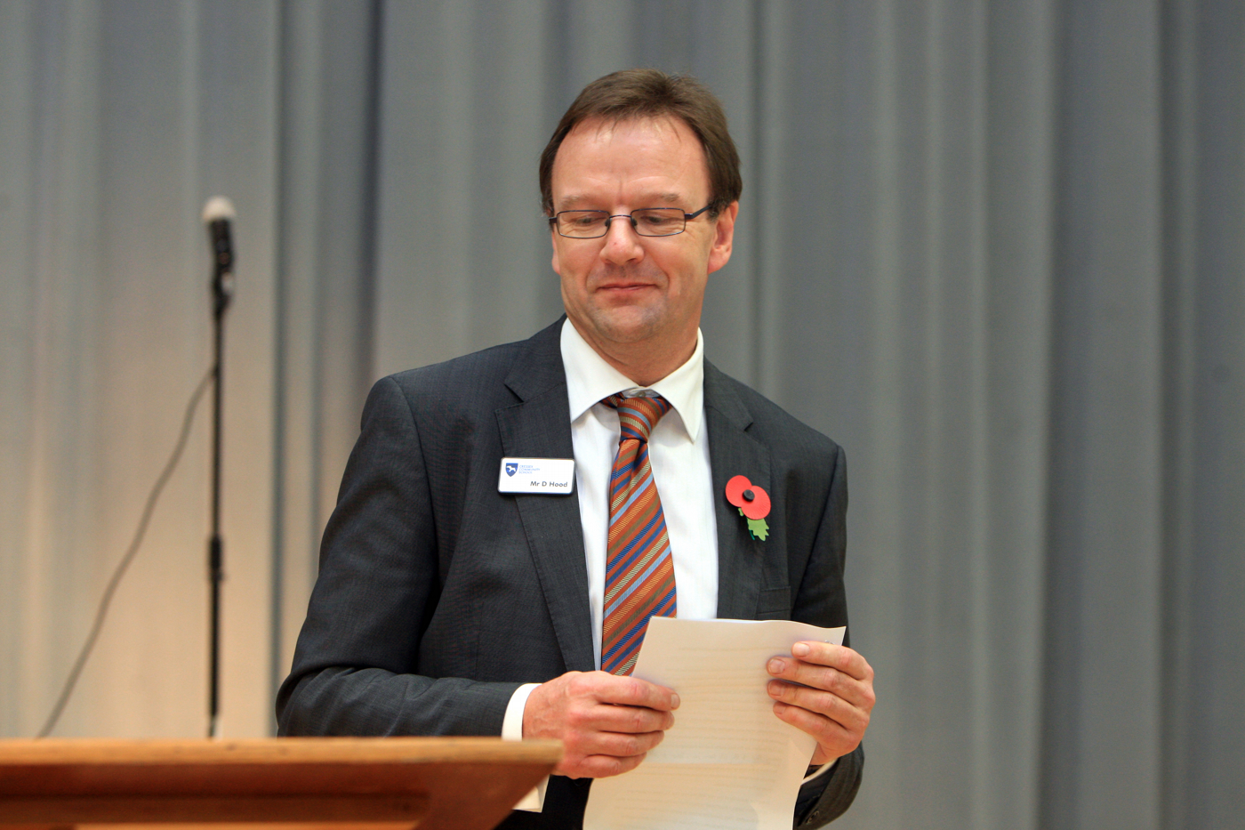 David Hood, Cressex Community School head teacher