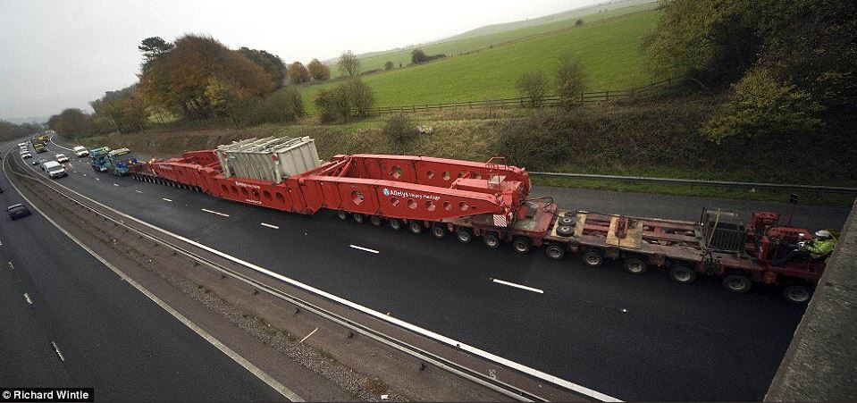 Police say the lorry will be a similar size to this one pictured. Picture by Richard Wintle