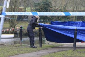 PICTURE & VIDEO UPDATE: Shock as body found in popular park