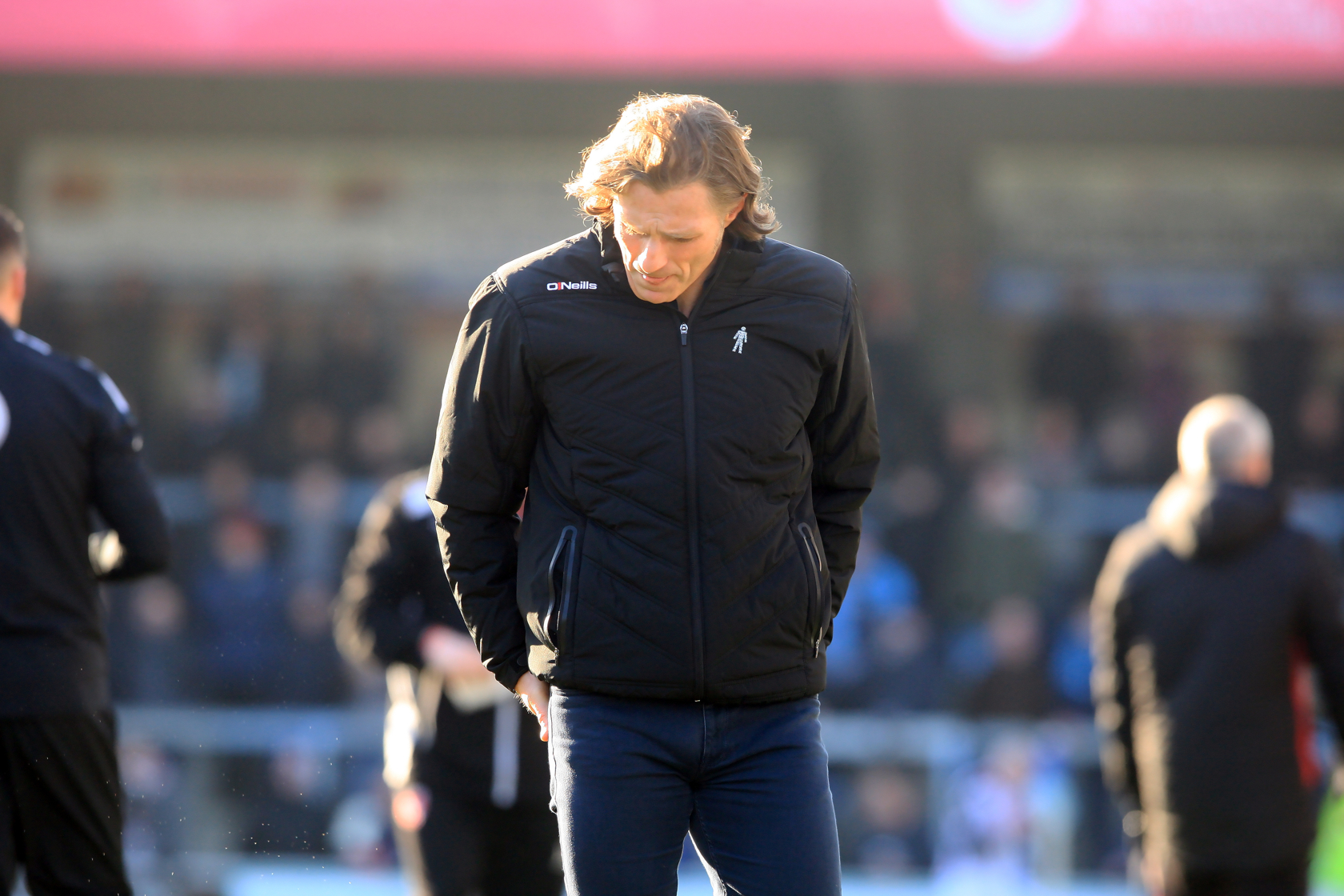 Ainsworth felt the defeat was a harsh result against Coventry