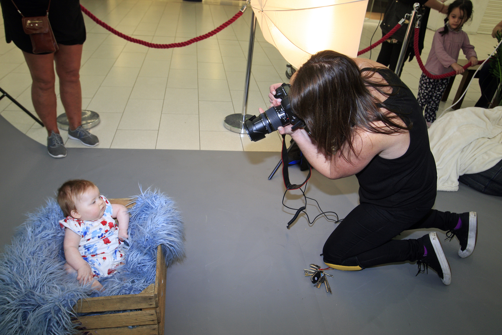 Say cheese! Photo shoots for Little Stars competition get underway