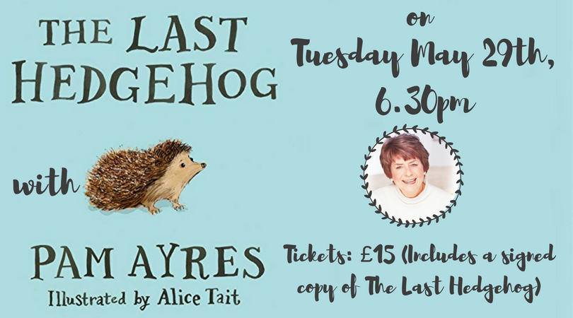 Hedgehogs and Humour with Pam Ayres