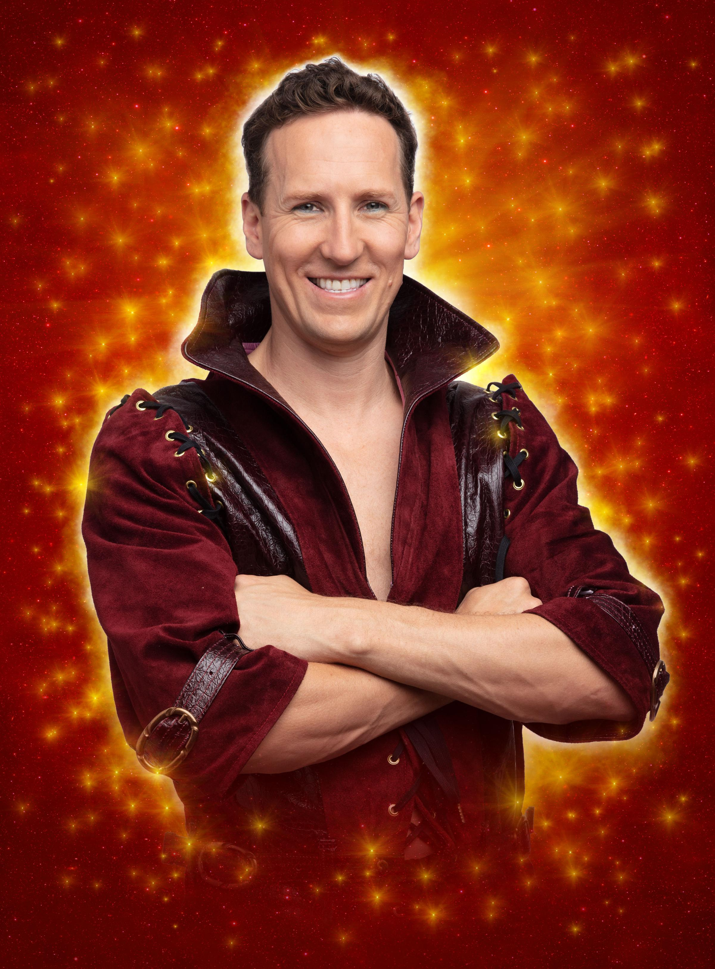 Strictly star Brendan Cole to make panto debut in High Wycombe