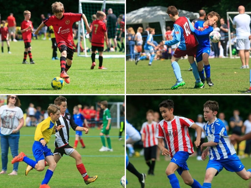 PICTURES: Budding sports stars Bend it like Beckham at annual football festival