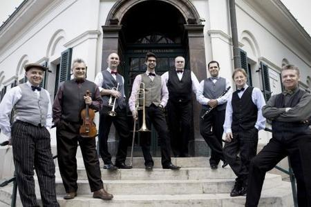 Budapest Ragtime Band in concert