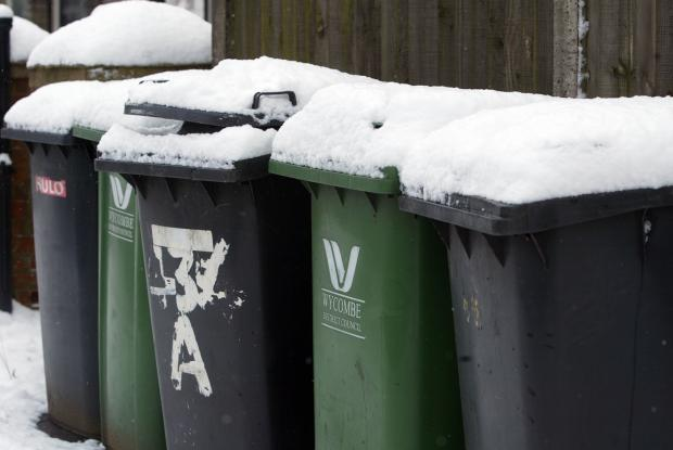 Wheelie bins are already used in the Wycombe District Council area