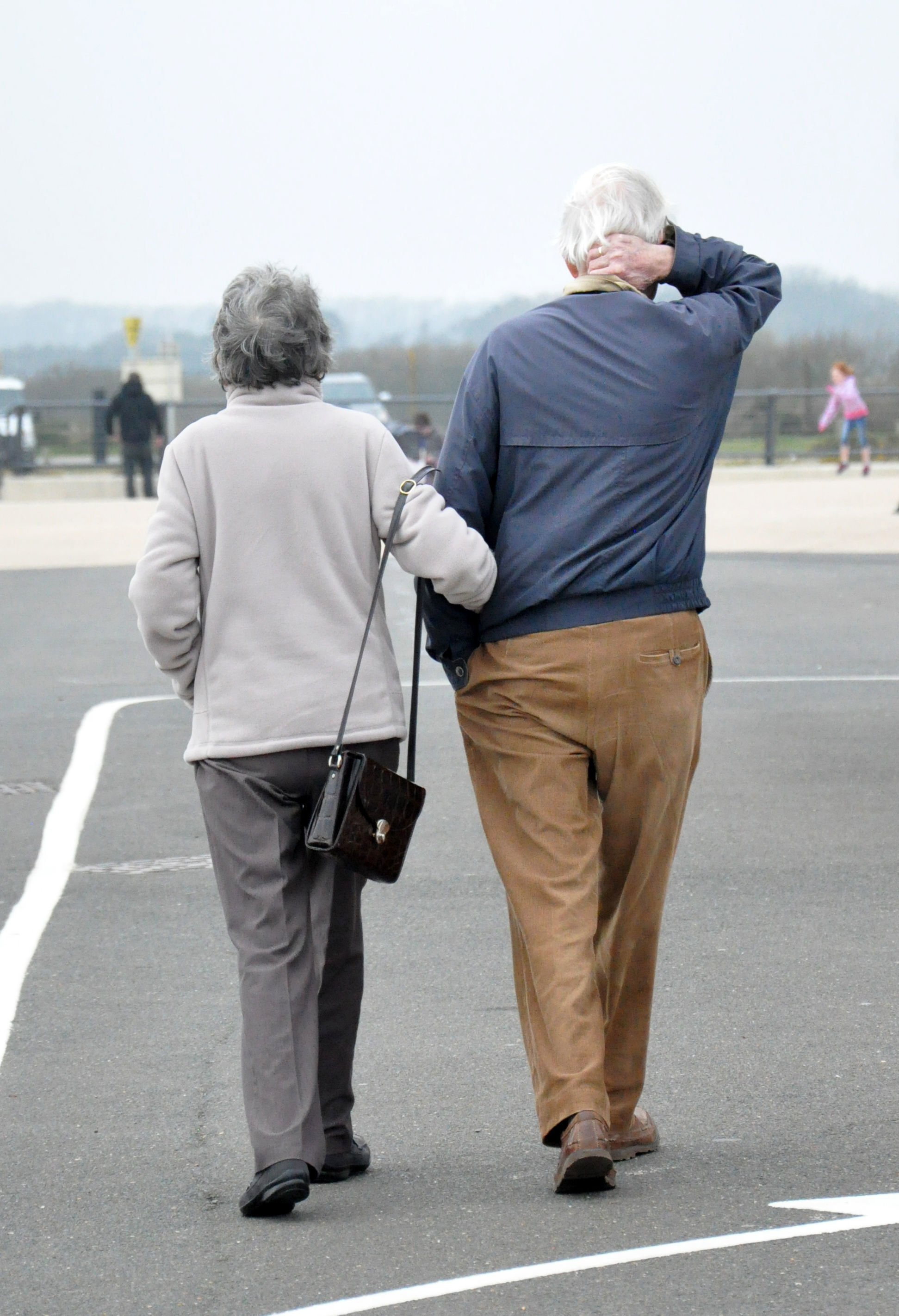 Embargoed to 0001 Monday July 9..File photo dated 02/04/16 of an elderly couple. Pensioners paid a £24 billion total income tax bill in 2015-16, analysis from a mutual insurer has found. PRESS ASSOCIATION Photo. Issue date: Monday July 9, 201