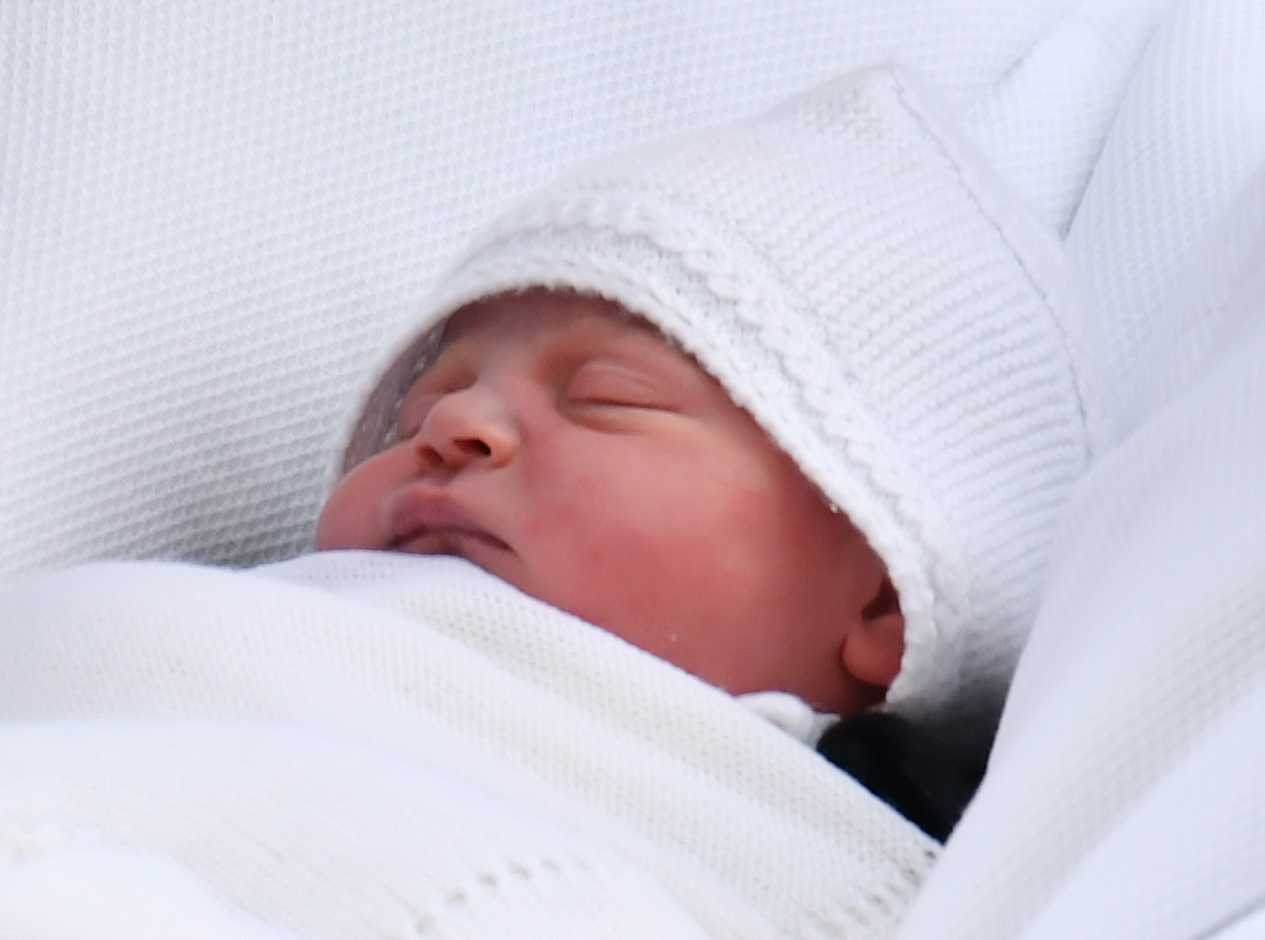 Prince Louis is set to be christened this afternoon. Picture: Dominic Lipinski/PA Wire