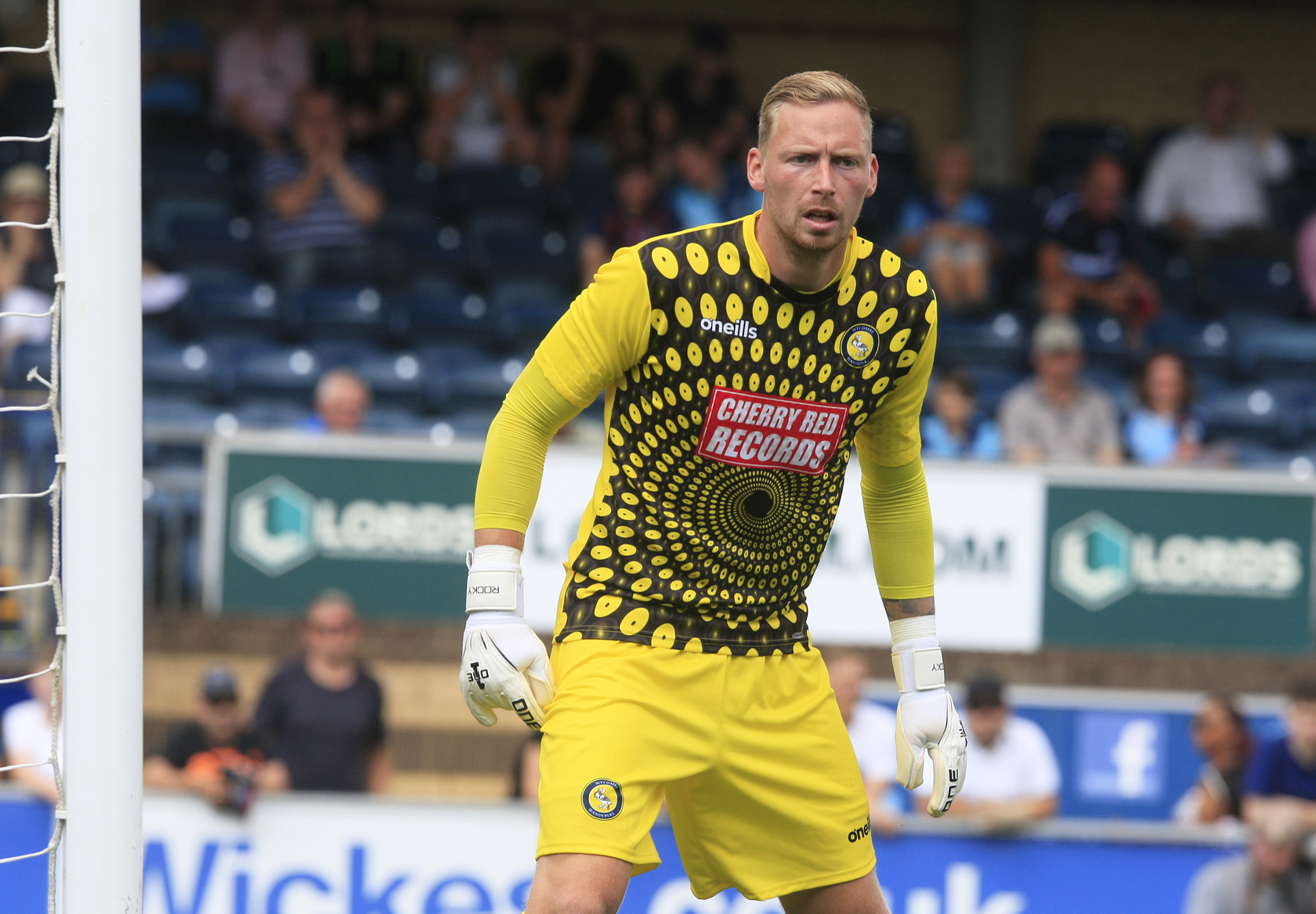 Allsop made a couple of superb saves