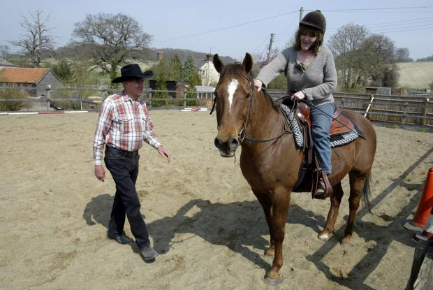 The Amersham-based charity MARES have previously benefitted from a Gannett grant