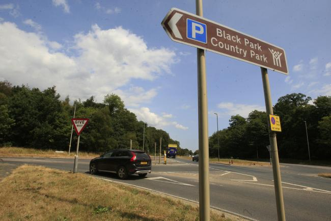 'Shots fired' at popular country park