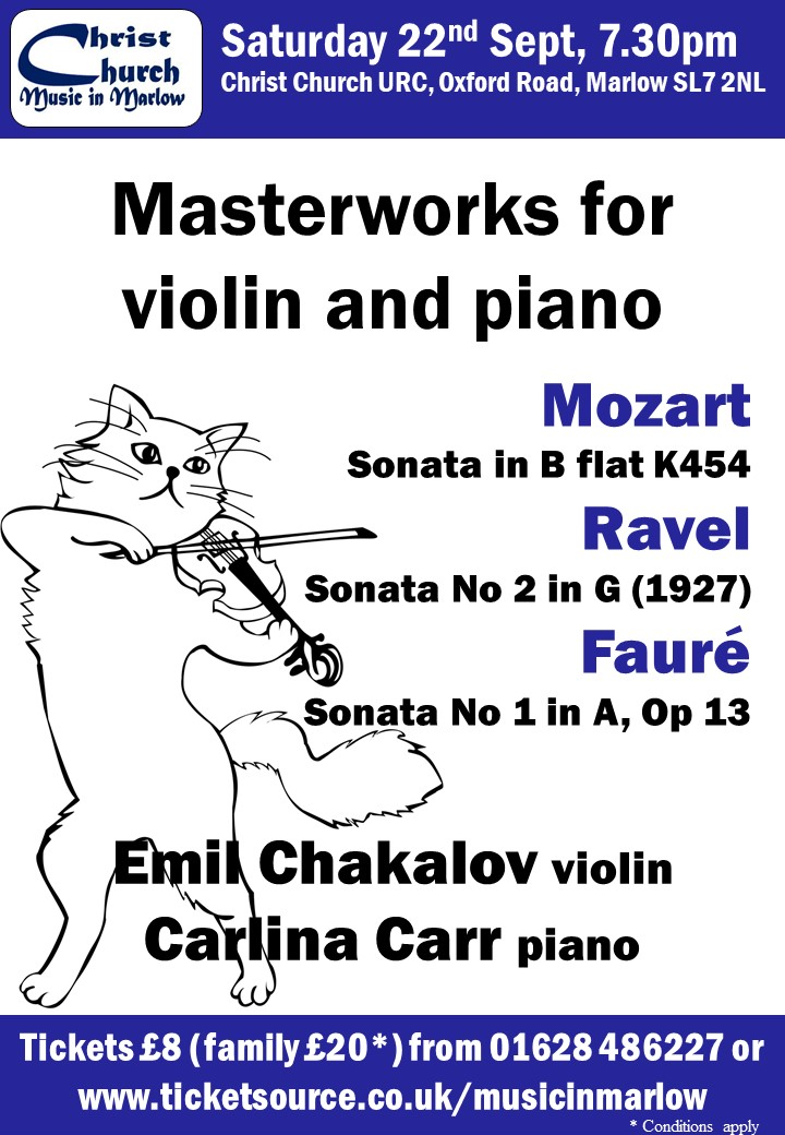 Masterworks for violin and piano