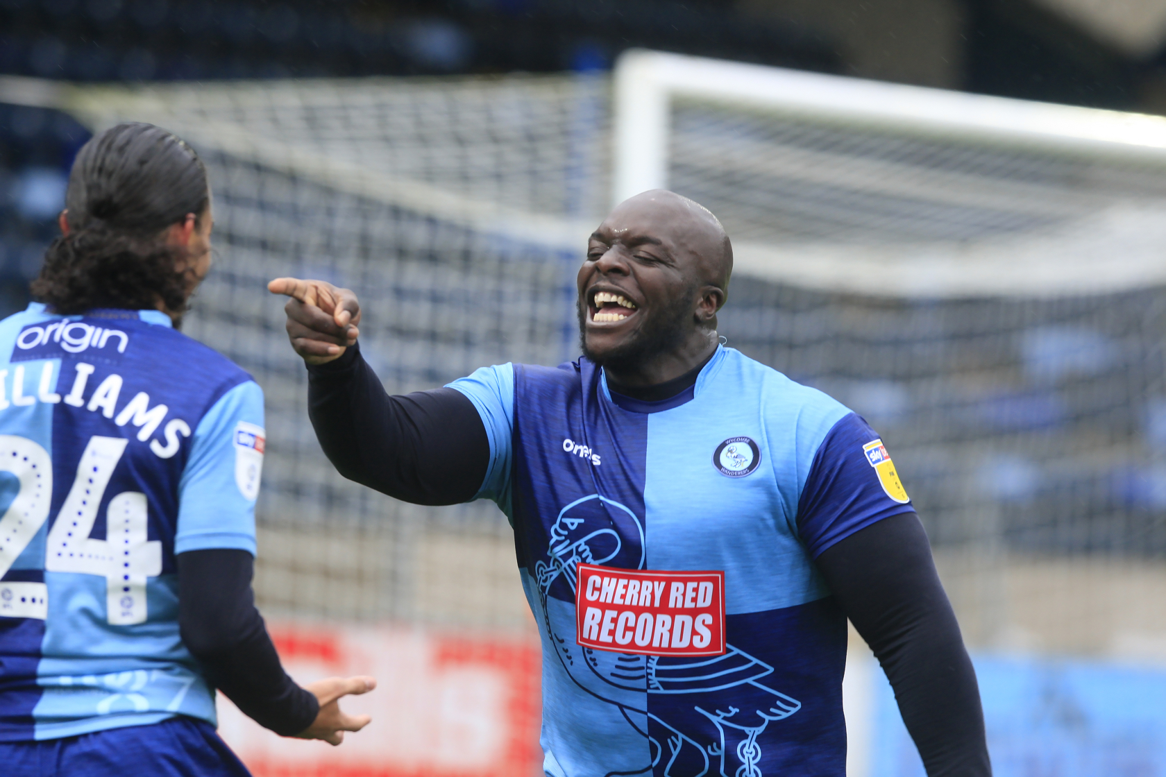 Akinfenwa was at the heart of all Wycombe's attacking play