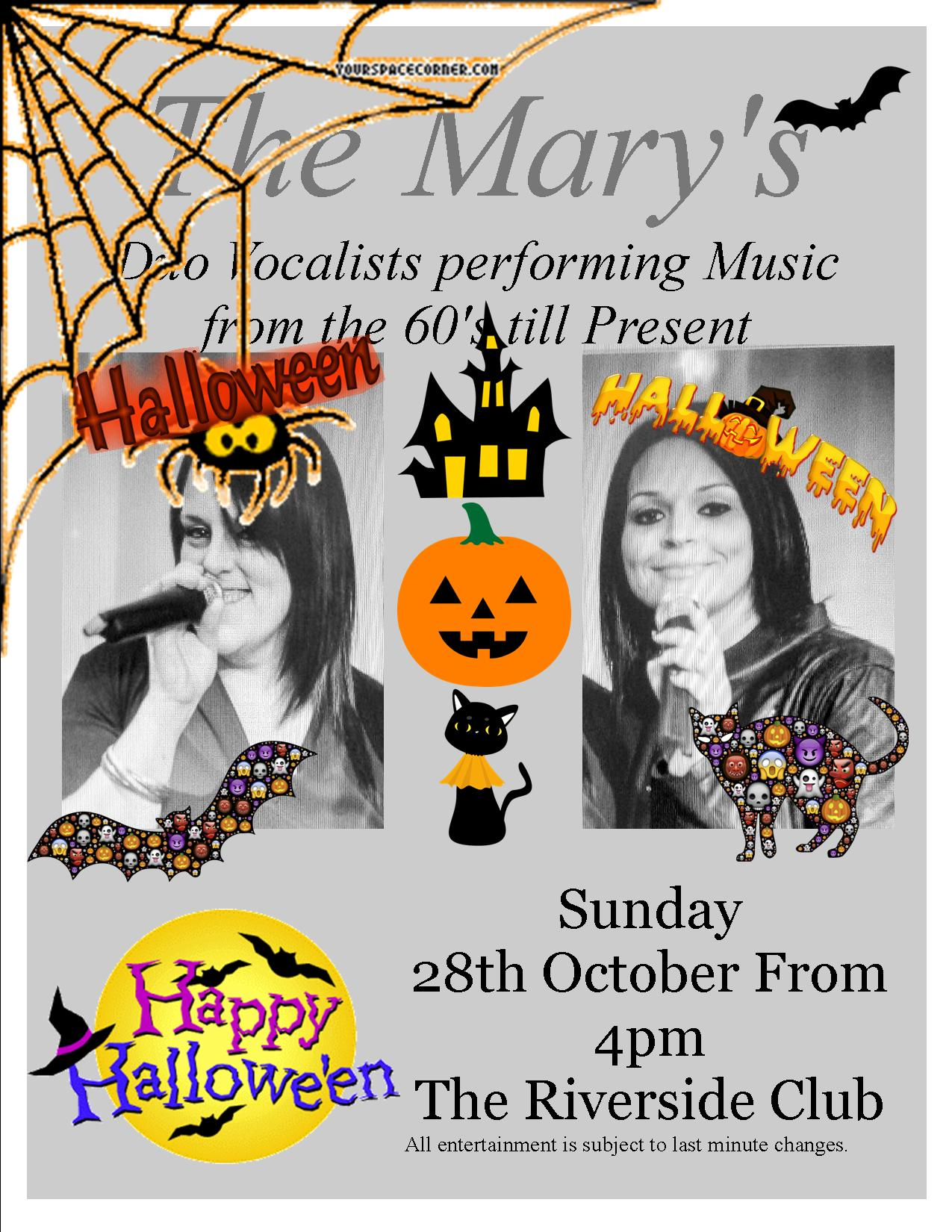 The Marys Halloween Event