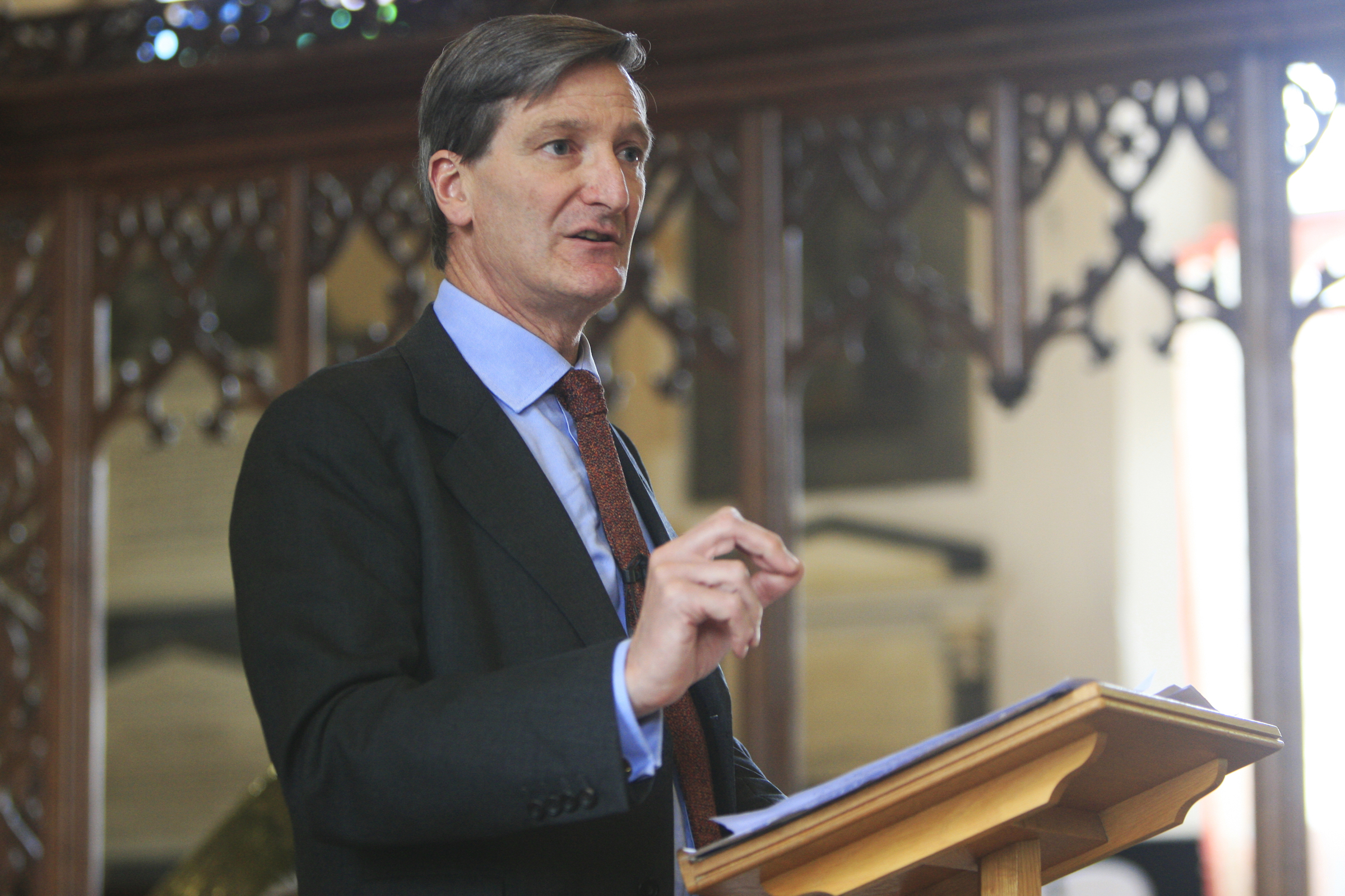 Dominic Grieve: 'Time to reflect upon momentous war centenary'