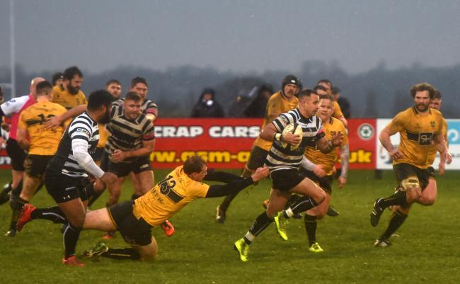 Chinnor held off Esher. Photo: Richard Cave
