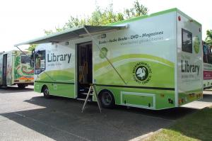 Buckinghamshire mobile library scoops prize (UK)