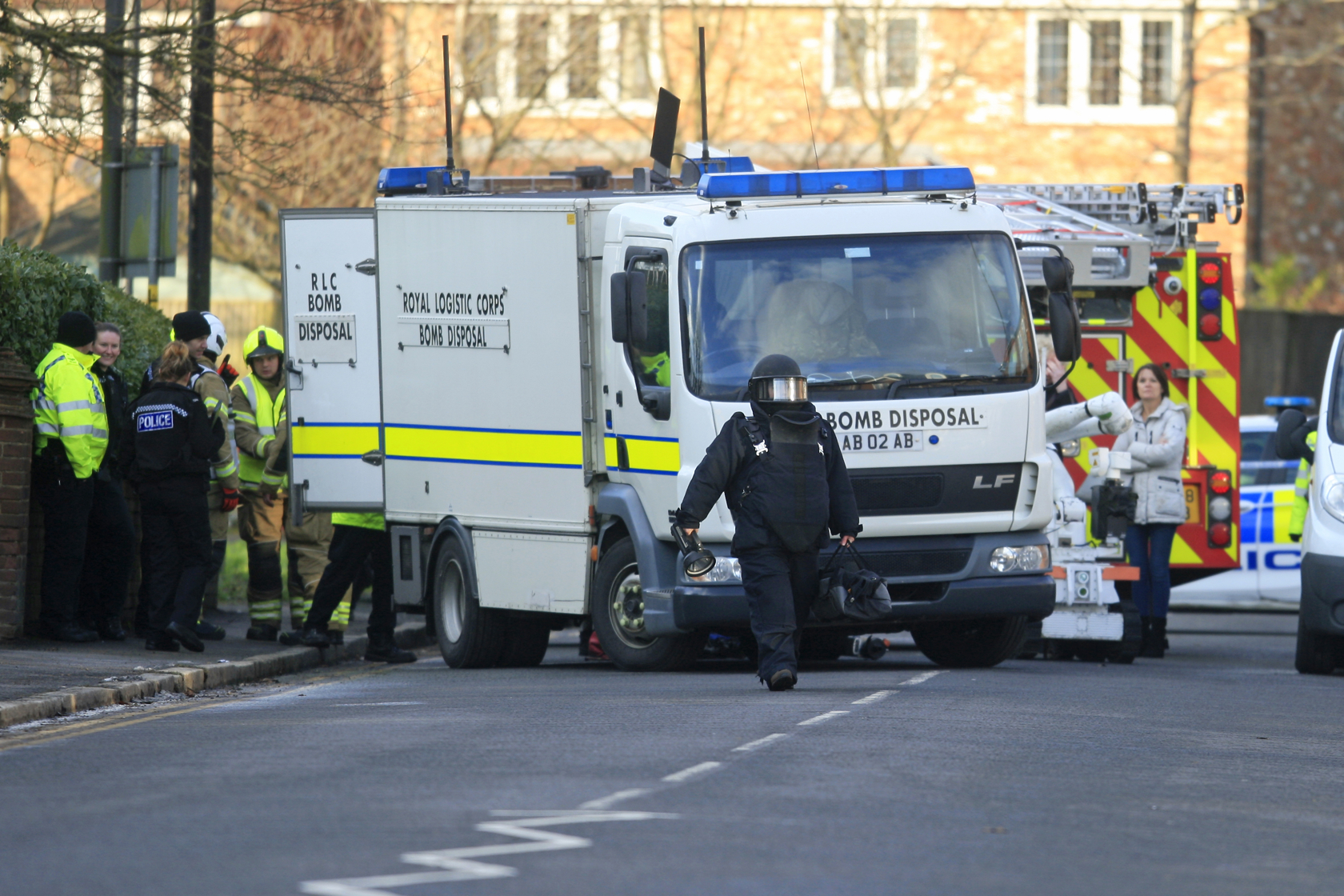 Two bank attacks that saw bomb disposal officers descend on Bucks twice in a week 'are linked'