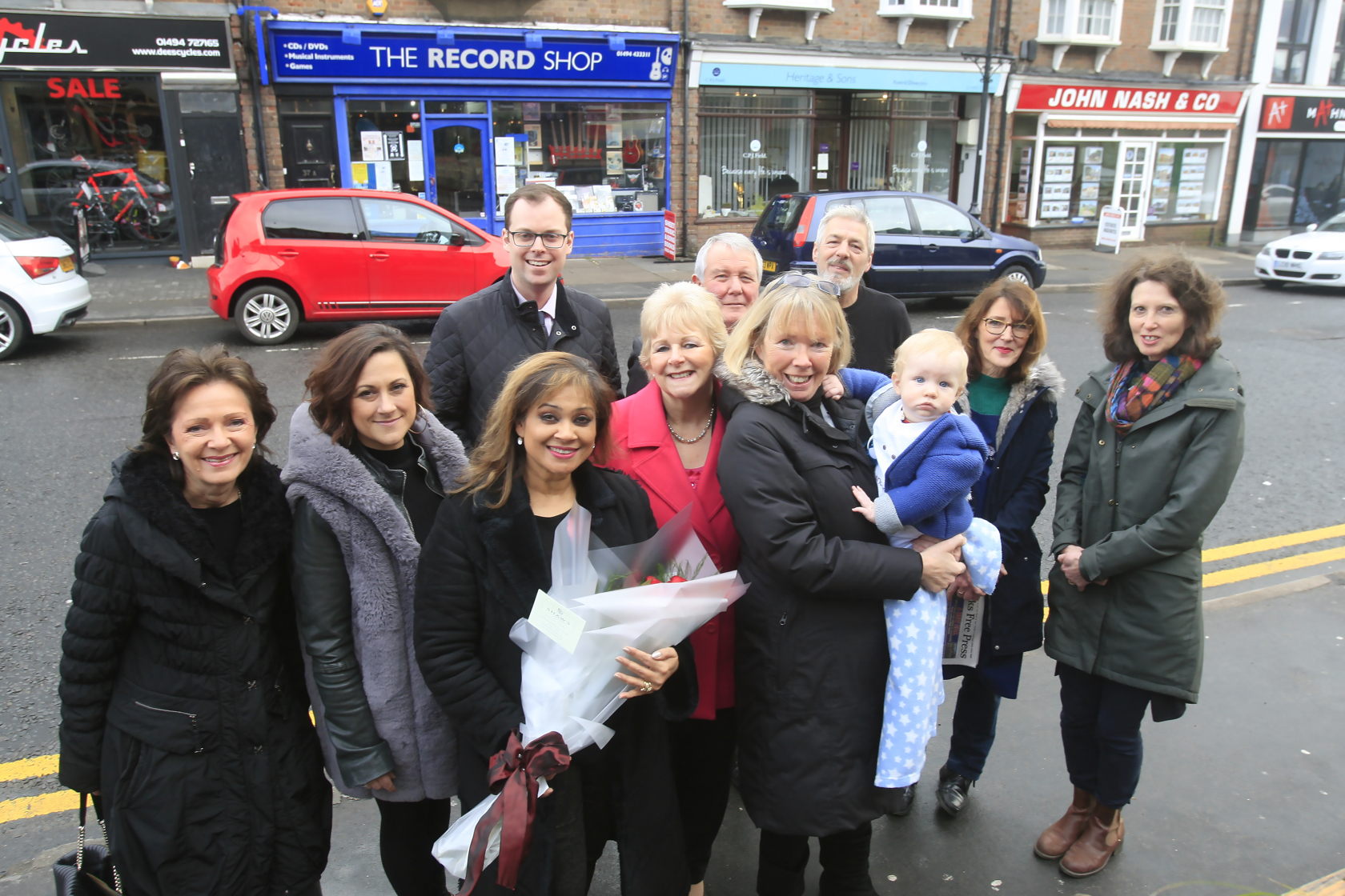 Community leaders launch campaign to revive town's High Street