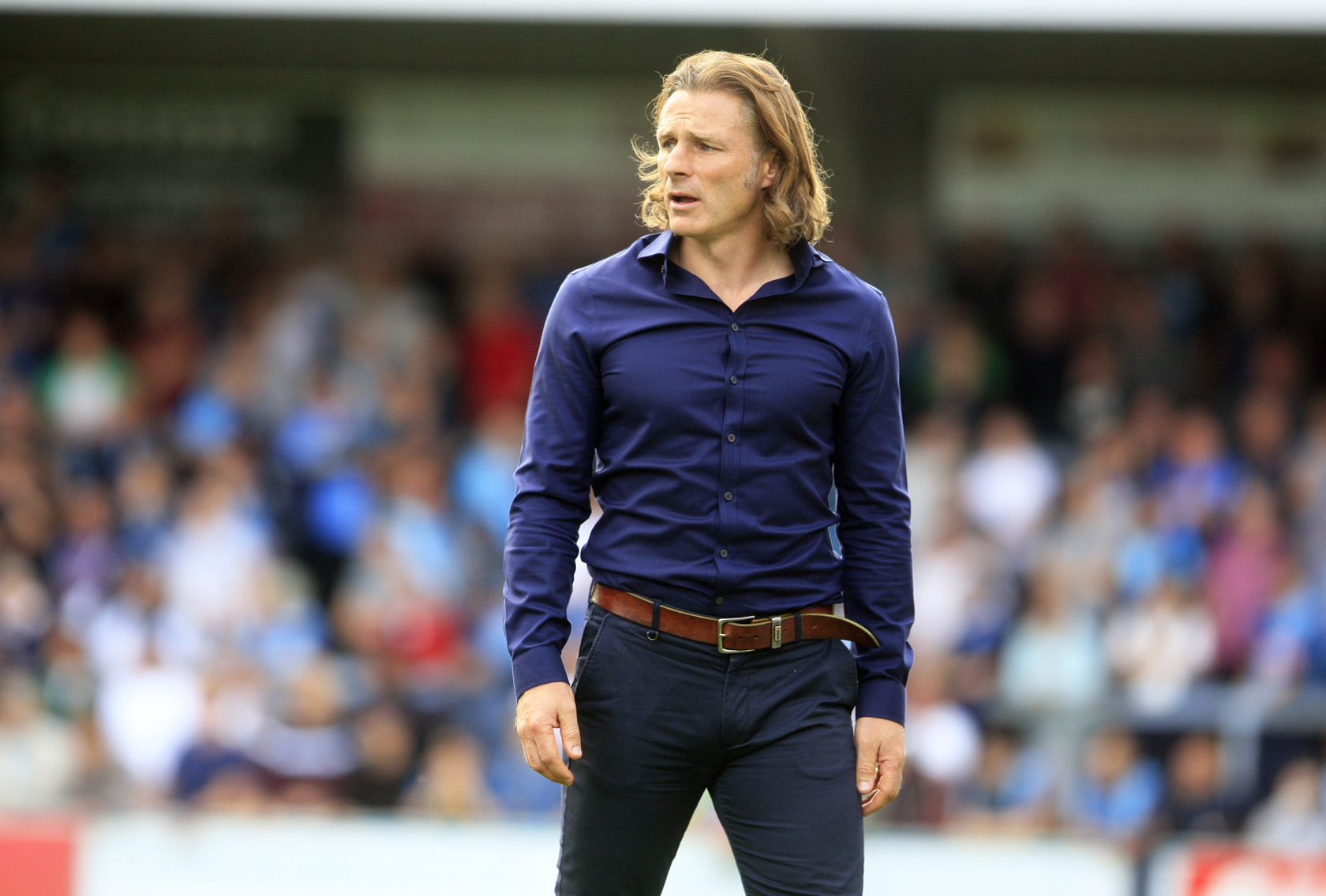 Wycombe Wanderers manager, Gareth Ainsworth.