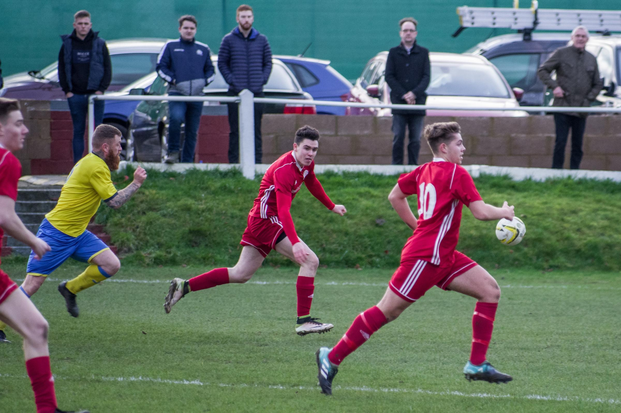 Risborough were edged out by Brimsdown