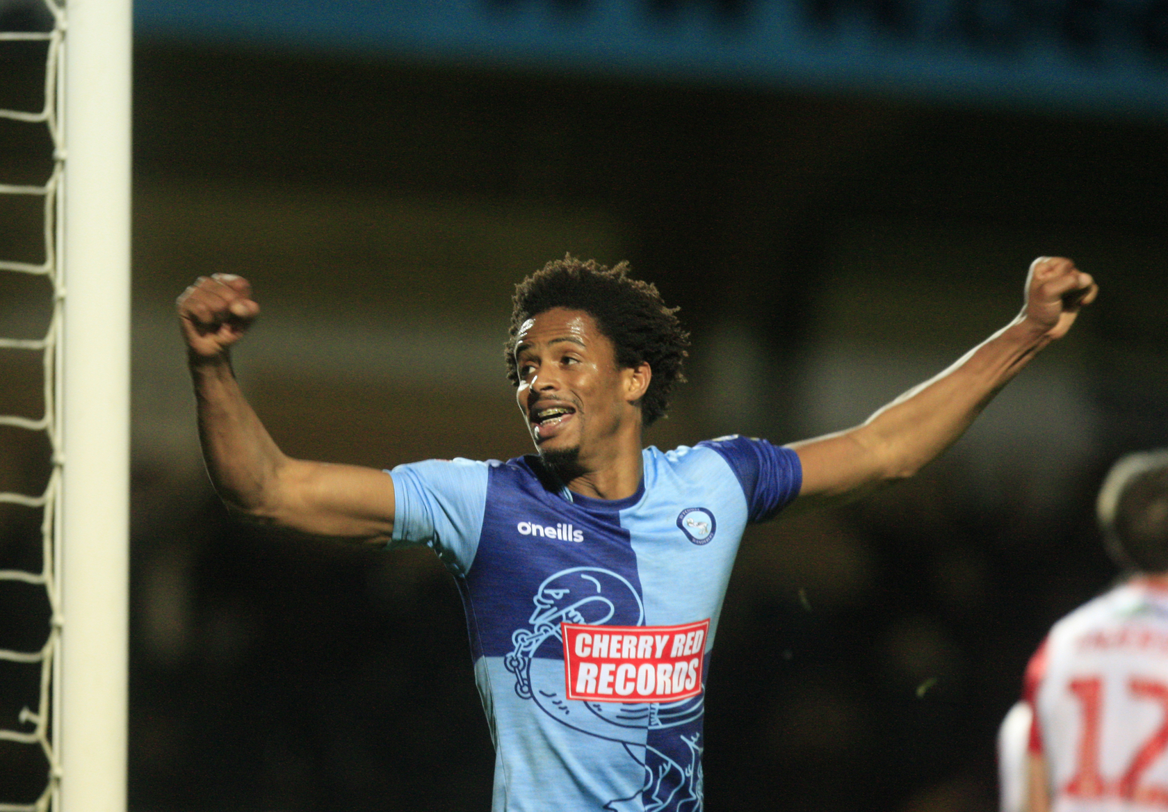 Jombati is revelling in his role at centre half