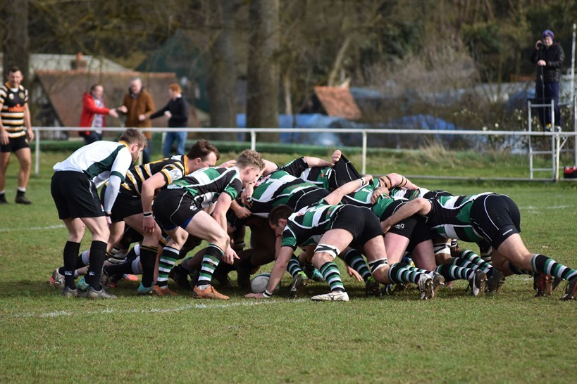 Marlow thrashed High Wycombe at the weekend