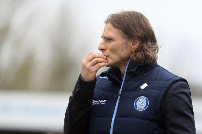 "Wycombe Wanderers manager Gareth Ainsworth: ""I think we're going to be right in the mix at the end of the season, I'm positive with this bunch I've got."""