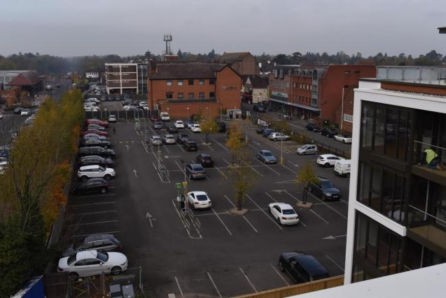 The car park in Station Road will be extended
