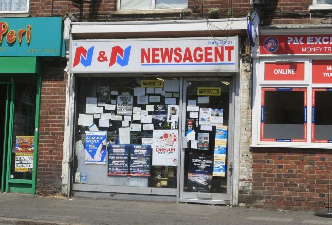 N&N News in Desborough Road