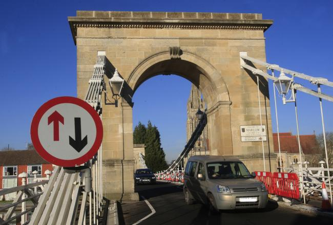 Marlow Bridge shut - for second time in three days