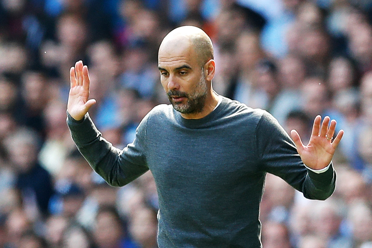 Manchester City manager Pep Guardiola has hit back at suggestions he condones 'tactical fouling'