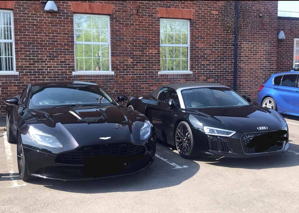 Audi and Aston Martin supercars seized for using High Wycombe as a racetrack