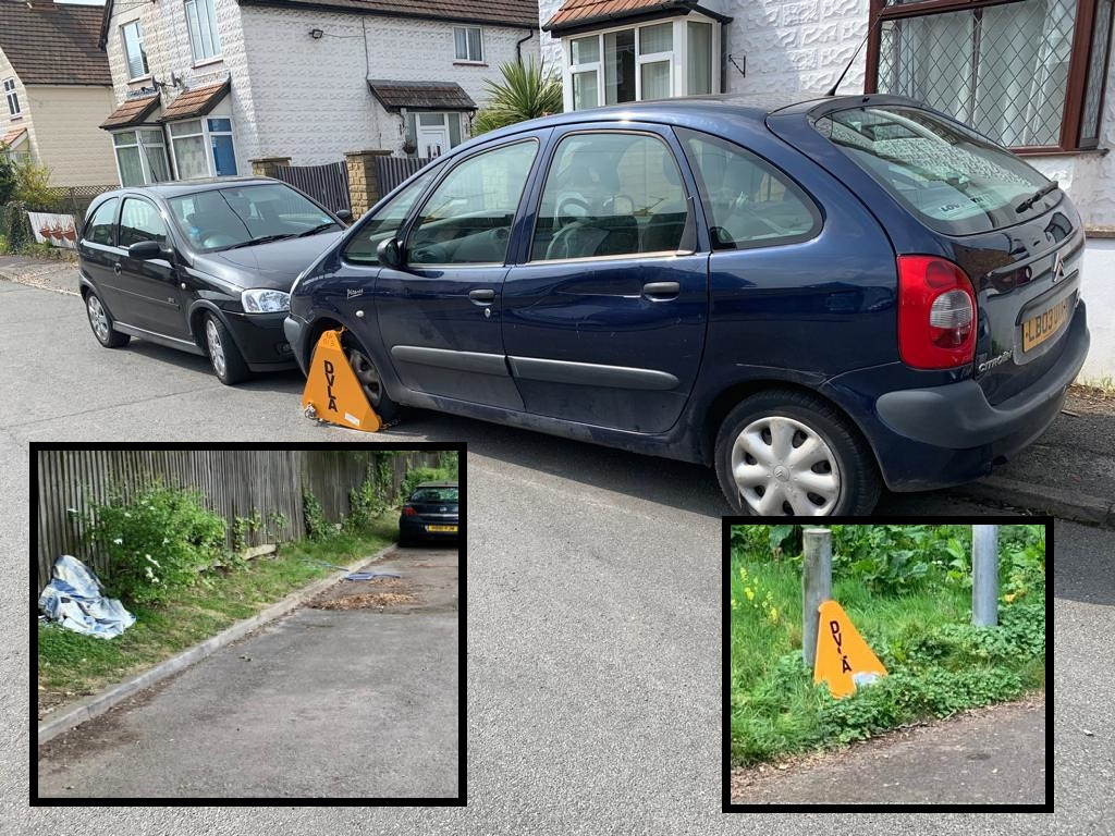 78 untaxed cars clamped across town this week (and they're not finished yet)