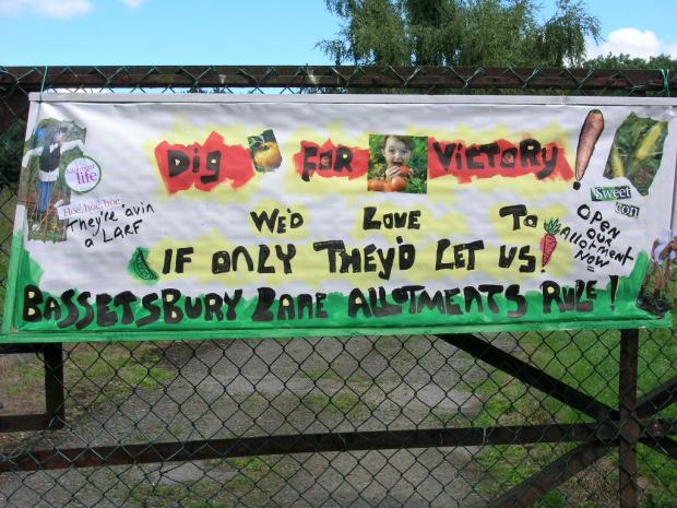 Allotment closure plan to be reconsidered