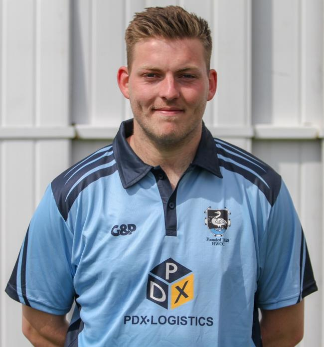 High Wycombe captain Dan Marles top-scored with 78 runs from 115 balls, before taking figures of 3-50 from seven overs, in the 18-run win against Aston Rowant at London Road on Saturday. Photo: www.sportsshots.org