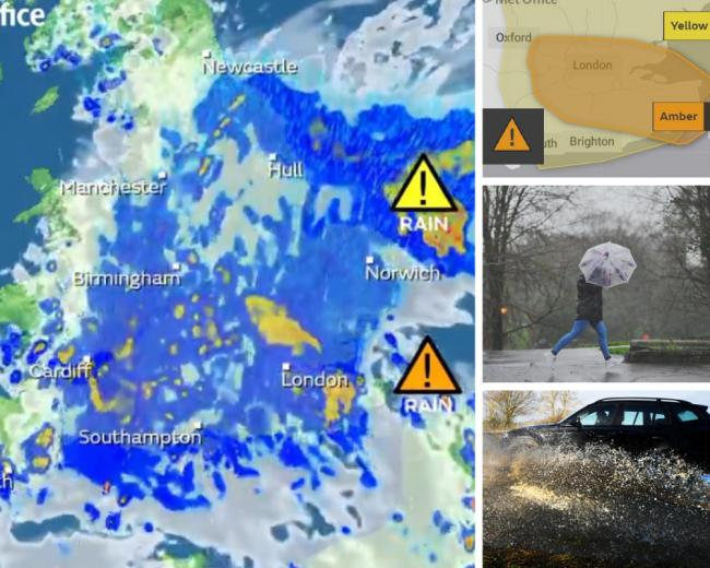 WEATHER WARNING: Fears flooding could 'damage homes' this afternoon