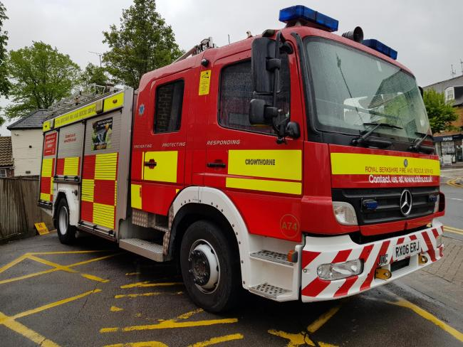 firefighters save derelict house