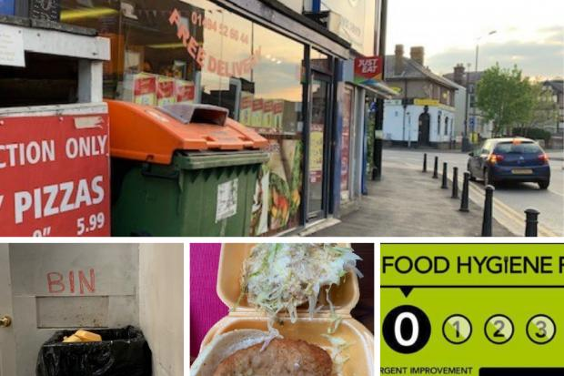 'FILTHY':  Takeaway gets ANOTHER zero rating - inspectors find chicken out of date by 9 days