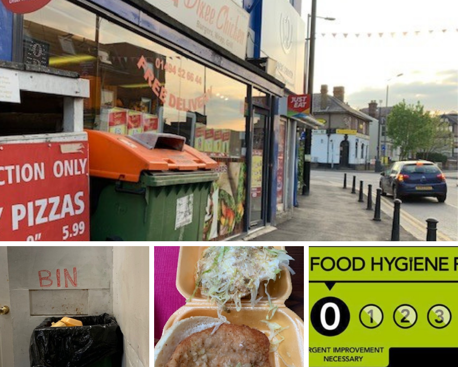 Filthy High Wycombe Takeaway Gets Another Zero Rating